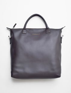 Want les essentiels o'hare moleskin shopper tote