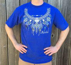 90's Native American Alaska XL shirt
