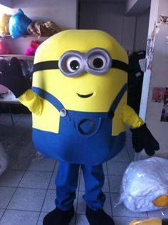 The kids will love dancing and playing with this cute minion mascot costume. This costume & 145 best Mascot Costumes images on Pinterest | Mascot costumes ...