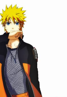 I stand by the fact that if Naruto were an actual person he would be really good looking...Yeah, I don't have much of a life lol