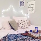 boho bedroom from urban outfitters