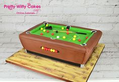 11 best pool table cake images pool table pool table cake pool rh pinterest com