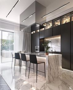 What You Need to Know About Fabulous Modern Kitchen Sets on Simplicity, Efficiency and Elegance The design is created up in a Turkish style. You have to understand what is it you wish to accomplish from your kitchen design. Luxury Kitchen Design, Kitchen Room Design, Best Kitchen Designs, Home Decor Kitchen, Kitchen Sets, Open Kitchen, Kitchen Black, Kitchen Paint, Küchen Design