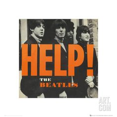 The Beatles: Help! Poster Print at Art.com