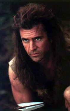 Mel Gibson in Braveheart with Sophie Marceau