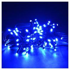 Luce natalizia 96 led programmabili blu interno/esterno   vendita online su HOLYART
