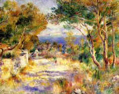 Pierre Auguste Renoir L'estaque oil painting reproductions for sale