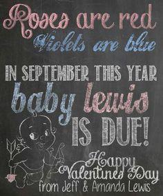 valentine's day baby due date