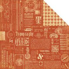 Graphic 45 12x12 typographyinspire