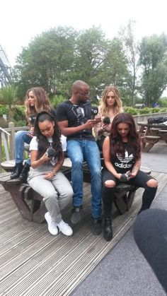 Little Mix at Thrope Park