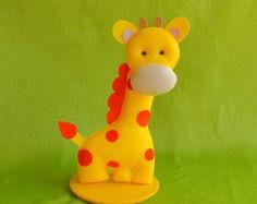 Girafa Grande Com Base