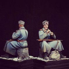 Vasily Tyorkin 1/35 figure. Author Alexander Kataurov #scalemodel #figure #figura #modelismo #hobby #miniatura #usinadoskits #udk #diorama #scalemodelkit #scalemodelsworld #maqueta #maquette  #моделизм #хобби
