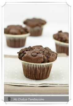 Mi dulce tentación: Muffins de Chocolate by Starbucks