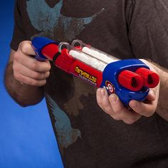 Double Barrel Marshmallow Shooter - train the next generation of zombie killers with yummy bullets!