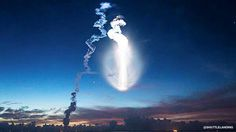 An Atlas V rocket launched from Cape Canaveral Air Force Station Wednesday at 6:18 am.