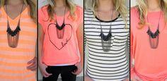 Draped Tassel Necklace | Sassy Steals | $5.99