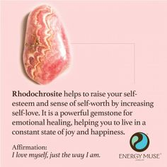 Rhodochrosite Stone, View the Best Rhodochrosite Stones from Energy Muse Now