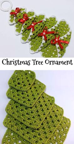 What a lovely and adorable crochet Christmas tree! You can use them as Christmas tree ornaments - SalvabraniNO PATTERN. Need to figure out - SalvabraniBy Celina Crochet & Arts. Crochet Christmas Decorations, Christmas Tree Pattern, Crochet Christmas Ornaments, Christmas Crochet Patterns, Holiday Crochet, Crochet Crafts, Crochet Projects, Crochet Ideas, Christmas Crafts