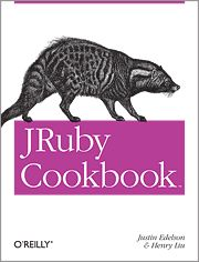 This #Cookbook offers practical solutions for using the #JRuby, the #Java implementation of the #Ruby language. Targeted recipes help you deploy Rails web applications on Java servers, integrate JRuby code with Java technologies, develop JRuby desktop applications with Java toolkits, and more. Using numerous reusable code samples, #JRubyCookbook demonstrates how you can take advantage of JRuby's potential.