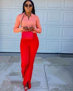 """ESSY   Fashion Blogger + NURSE on Instagram: """"What do you think about this colors combination  guys? ❤️🧡 . . . Ps: at work at the moment  been A hectic Day , taking a quick break to eat…"""" Color Combinations, Thinking Of You, Take That, Spring Summer, In This Moment, Guys, Instagram, Eat, Colors"""
