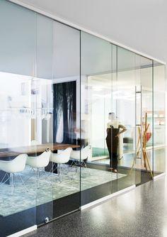 fecoplan by Feco | sound-insulating all-glass sliding door | ..