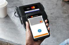 mobile-pay MasterCard expande el comercio electrónico a través de pagos QR Mobile Credit Card, Credit Card Machine, Card Ui, Digital Wallet, The Motley Fool, Smartphone, Business Credit Cards, Android, The Fool