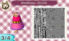 Animal Crossing New Leaf QR Codes - Dresses