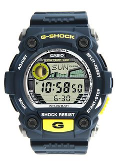 G SHOCK G 7900 2DR Watch, the watch that brought unmatched toughness to personal timekeeping, comes a collection of models that deliver a level of protection. These watches are designed and engineered to become partners of people who like their activities rough and rugged. http://zocko.it/LDUL9