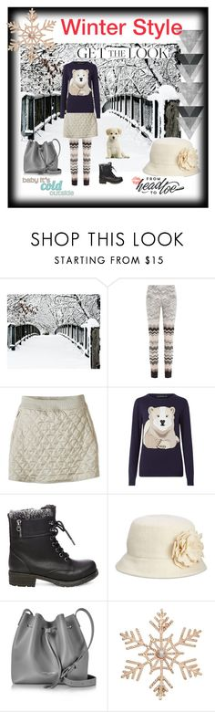 """""""Winter Style"""" by miskigirl ❤ liked on Polyvore featuring Missoni, prAna, Sugarhill Boutique, Steve Madden, Nine West, Lancaster and John Lewis"""