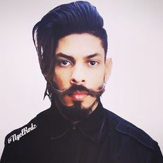 Hello!  #hair #haircut #hairstyle #hairstyles #hairstylist #hairtutorial #hairoftheday #men #mensfashion #menstyle #moustache #mustache #style #twitter  NgelRodzTv | Hair Tutorials Link in Desc