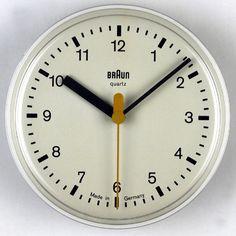 dieter rams inspired clocks - Google Search
