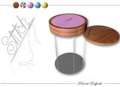 Formabilio - STITCH: tavolino simpatico nel nome e nella forma. Un tavolino versatile che riprende la sagoma del bottone, pensato per adattarsi a qualunque ambiente e per svolgere diverse funzioni: dal semplice comodino, al contenitore, al comodo supporto per telefono, tablet, pc e molto altro. Si assembla facilmente grazie agli elementi ad incastro che lo compongono, ma al tempo stesso robusto, confortevole e colorato. Realizzato in acciaio, legno di noce e laccato, per ampliare la scelta…