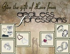 Give the gift of love with endless Xpressions by Kirsten.  Available online at http:/endlessxpressions/store/#EndlessXpressionsbykirsten