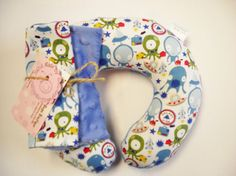 Baby Toddler Childrens Nek travel Pillow with by Loubugsboutique