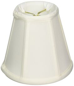 Royal Designs Deep Empire Lamp Shade, White, 3.5 x 6 x 5.75, Flame Clip -- Want to know more, click on the image. (This is an affiliate link and I receive a commission for the sales)