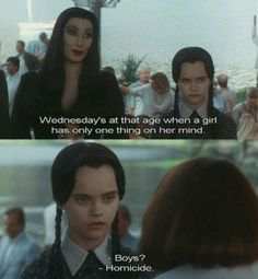 when you just reach that stage in life // #rebelcircus #wednesdayaddams #wednesday #love #me #af #lol #same #homicide