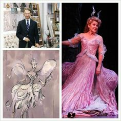 William Ivey Long's designs inspire the dreamer in all of us. Congratulations, William, on your Tony Award and a job very well done. Rodgers And Hammerstein's Cinderella, Cinderella Broadway, Cinderella Costume, Broadway Theatre, Broadway Nyc, Musical Theatre, Young Frankenstein, Grey Gardens, Curtain Call
