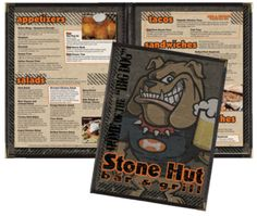 StoneHut-Menu Design