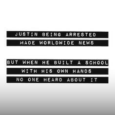 Sadly, that's how our world, is, and it will always be like that, we know the truth and we can be positive, unlike the rest of society.