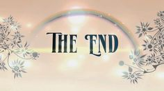 The End Animation Rainbow Floral - Royalty Free Animation - AA . Whatever Is True, Motion Backgrounds, Gods Promises, The End, Word Art, Clip Art, Rainbow, Animation, Pure Products