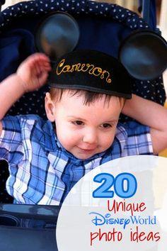 20 Unique Disney World Photo Ideas - Savings Tips - SavingsMania