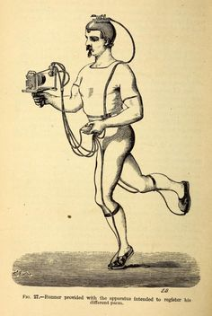 Smartphone running app circa 1874 (from English translation of Étienne-Jules Marey's Animal Mechanism)
