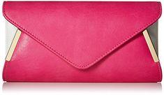 BMC Womens Pink PU Leather Envelope Flap Metal White Acce... https://www.amazon.ca/dp/B00TA9SNEC/ref=cm_sw_r_pi_dp_U_x_pwxXAbHATVT8V