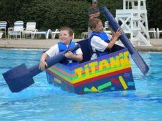 Cardboard Boat Race ASU