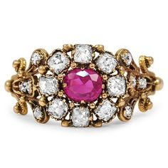 1800s Georgian pink sapphire ring!!!! Coolest ring I think I've ever seen! Pink sapphires are amazing!