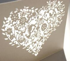 The first glimpse of our new whimsical heart design.. perfect for vintage weddings!