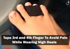 how to avoid high heel pain