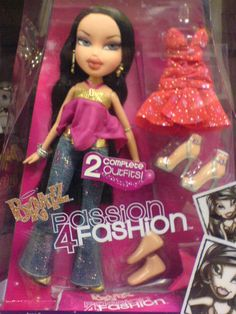 Bratz doll - 559 different dolls to choose from and they all look like strippers!