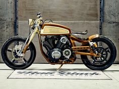 The Playa del Ray custom Yamaha XV950 by Matt Black Custom Designs