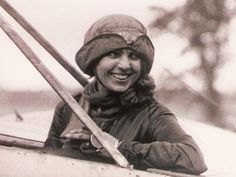 Harriet Quimby, the first American woman to earn her pilot's license, also wanted to be the first woman to fly across the English Channel. Though she succeeded on April 16th, 1912, her achievement gained little media attention at the time because the papers were filled with the news of the Titanic sinking just the day before. - via Women's History Museum FB page